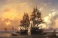 Бой куттера Меркурий со шведским фрегатом Венус 21 мая 1789 г.