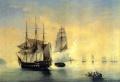 А. Боголюбов. Захват куттером Меркурий шведского фрегата Венус 21 мая 1789г.